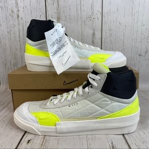 NEW men's Nike drop type mid shoes summit white